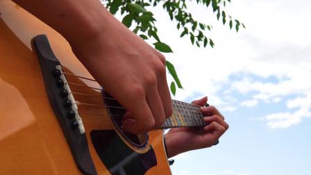 音乐人张紫宇指弹改编演奏周杰伦《退后》詹尼M33吉他赞助 靠谱吉他联合出品