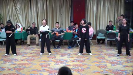 珠海潮武恒毅八周年庆典 四朵小金花双节棍表演