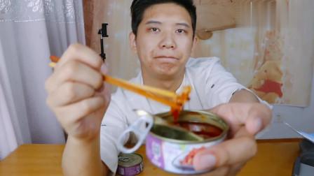 大伟高价买来的象拔蚌,100克的份量,吃起来味道怎么样?