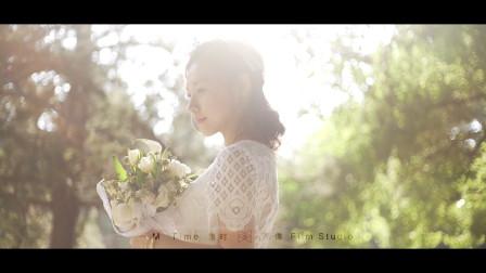 漫时影像婚礼作品 | 一个人有多欢脱就有多感性