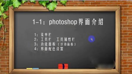 1-1:PS CS6界面介绍.wmv