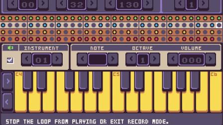 8bit游戏制作软件Pixel vision 8 tune试用