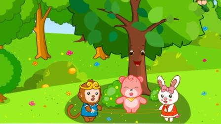 儿童故事 桃子树的孤独的冬天,邀请一起过冬的伙伴!