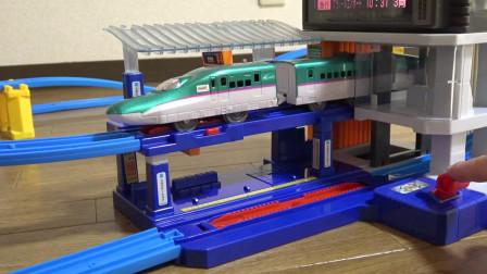 二层建造的月台豪华声音也现实充分收录立体交叉上升到轨道百万车站大厦