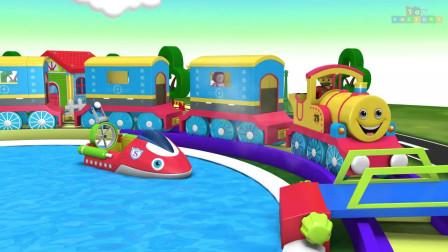 库珀先生和他的朋友们儿童卡通火车视频玩具工厂火车