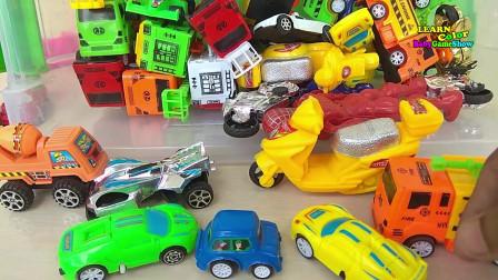 孩子们的车供幼儿使用的街道车辆印地语儿童教育视频