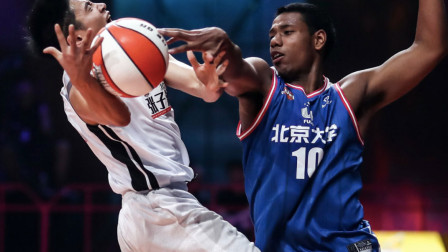 《我要打篮球》:邓伦完虐李易峰,三分球打出职业水准!