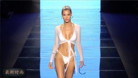 迈阿密时尚泳装周走秀,朦胧的薄纱,朦胧的美