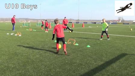国外U青少年足球技巧训练教学视频38集