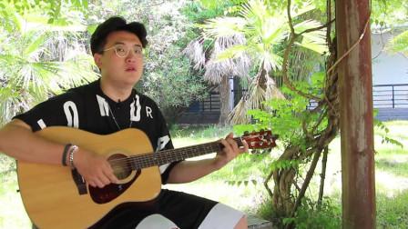 吉他教学,经典曲目《情非得已》,扫弦的技巧