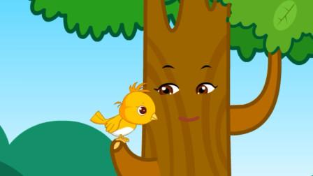 儿童故事 小树找朋友,鱼儿鱼儿,你愿意和我做朋友吗?