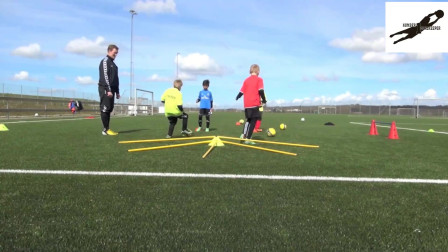 国外U青少年足球技巧训练教学视频39集