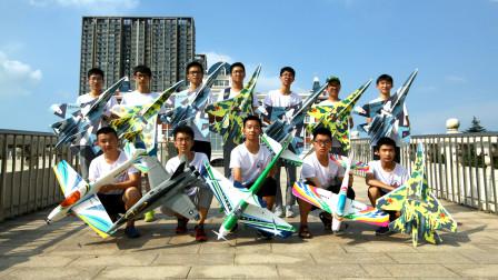 一群中学生的暑假航模生活
