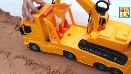 给力的工程车,铲车和挖掘机太棒了