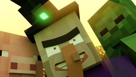 《Minecraft 我的世界》动画之烦人的村民第六集