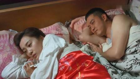 丈夫费尽心思睡到床上,可看到如花似玉的老婆,丈夫却辗转未眠