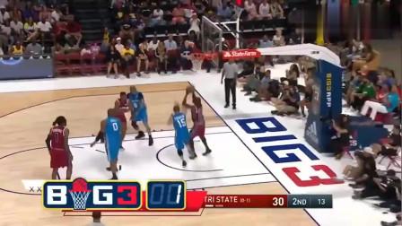BIG3篮球赛:十佳球集锦!你觉得谁技术最强?