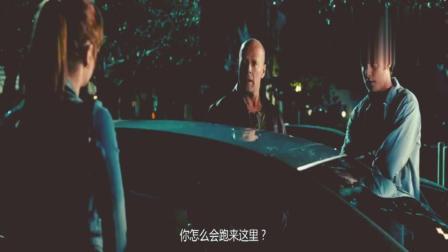 虎胆龙威4:女孩说父亲死了,哪料下一秒父亲出现,尴尬了!
