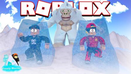 Roblox雪山凶灵故事!攀岩遇到雪怪