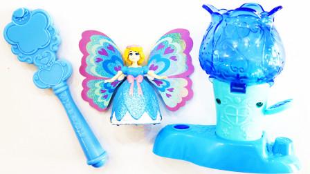 蝴蝶美少女香香仙子女生女孩公主玩具