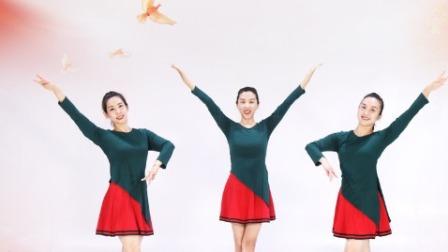 糖豆广场舞课堂《大中国》:简单适合大众一看就会