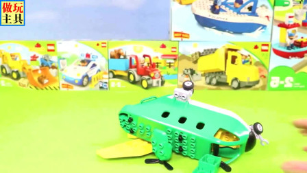 很不错的铲车和挖掘机玩具