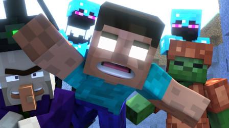 《Minecraft 我的世界》动画之烦人的村民第十集