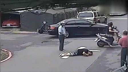 事故发生后,才发现女司机如此无耻,监控拍下这一幕