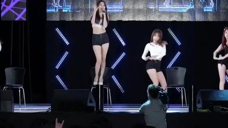 韩国女团大秀性感热舞,为了出名都拼尽全力