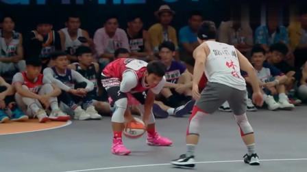 """我要打篮球:""""云南滑翔机""""果然名不虚传!超帅扣篮,李易峰坐不住了"""