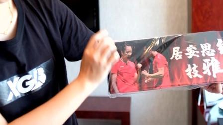 XGB羽毛球国羽应援团,为中国队加油第一天