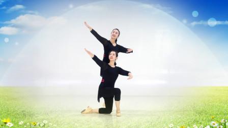 糖豆广场舞课堂《草原上的爱》