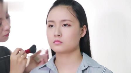 专业化妆师手把手教你画瘦脸妆, 大脸妹子变瓜子脸