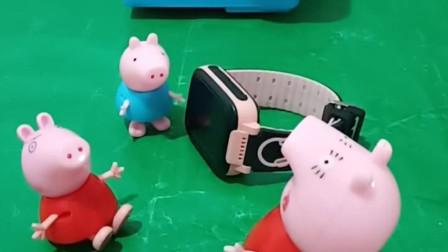 猪妈妈只给乔治买东西,不给佩奇买,猪妈妈太偏心了!