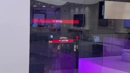 华为马德里旗舰店,处处都是科技感