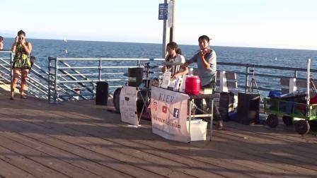 美国洛杉矶海岸之旅