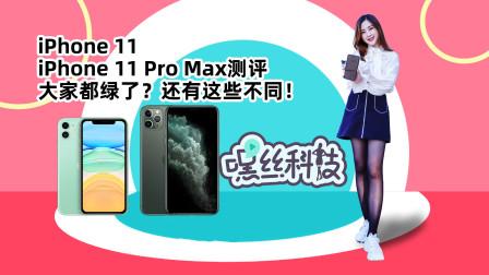 iPhone 11和iPhone 11 Pro Max测评,大家都绿了?还有这些不同!