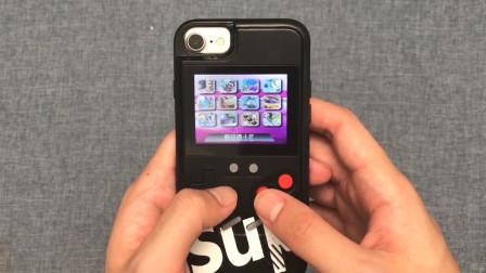 """29.9的""""游戏机""""手机壳开箱,戴上手机那一刻:都不想玩手机了!"""
