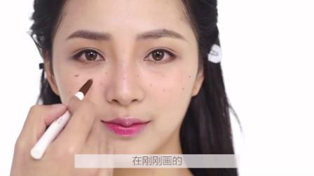 化妆小技巧:3分钟打造甜美可爱少女感雀斑妆