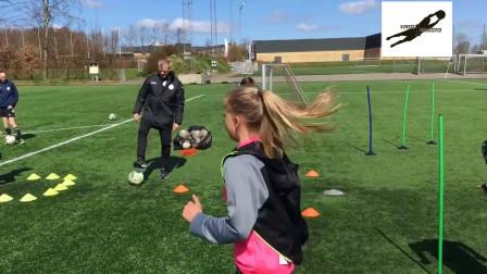 国外U青少年足球技巧训练教学视频42集