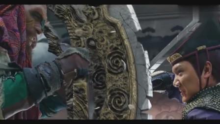 幽冥霸刀已经是绝世神兵了,想不到被这把武器震成碎片