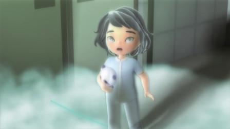 小女孩病重卧床不起,为了让妈妈过得更轻松,她主动随死神而去