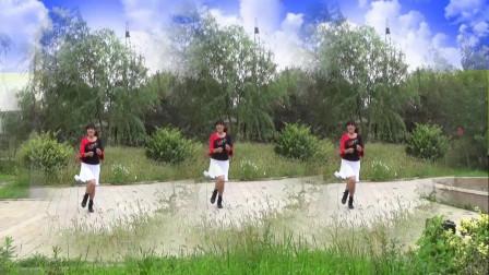三友矿山广场舞【清清的河水呦】新编八步简单好学附慢动作分解