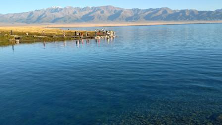 金秋游新疆 赛里木湖的波光