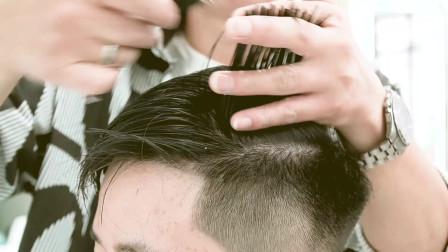 这款男生发型 生活化  易打理 干净帅气 发质硬的都可以试一试