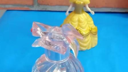 育儿亲子游戏玩具:白雪能收下贝儿送来的香水吗
