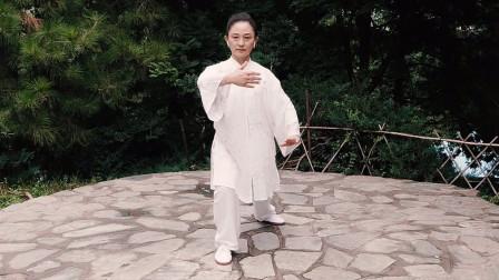 张光萍教学视频-太极拳八法五步 第十一课 活步掤