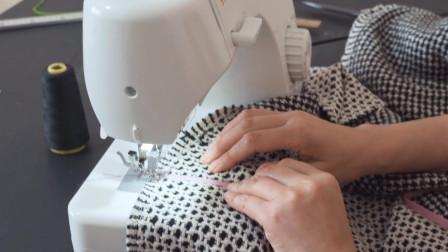有不戴的长围巾吗?折叠一下中间剪1个圆,成品秋冬最实用