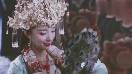 胡冰卿在《独孤天下》中的扮相真美,红唇娇艳反差惊艳