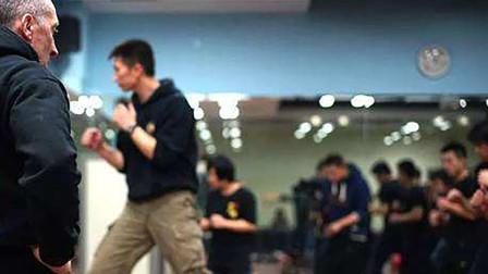跆拳道教练从四川到北京和中国截拳道传人史旭光,练习截拳道!
